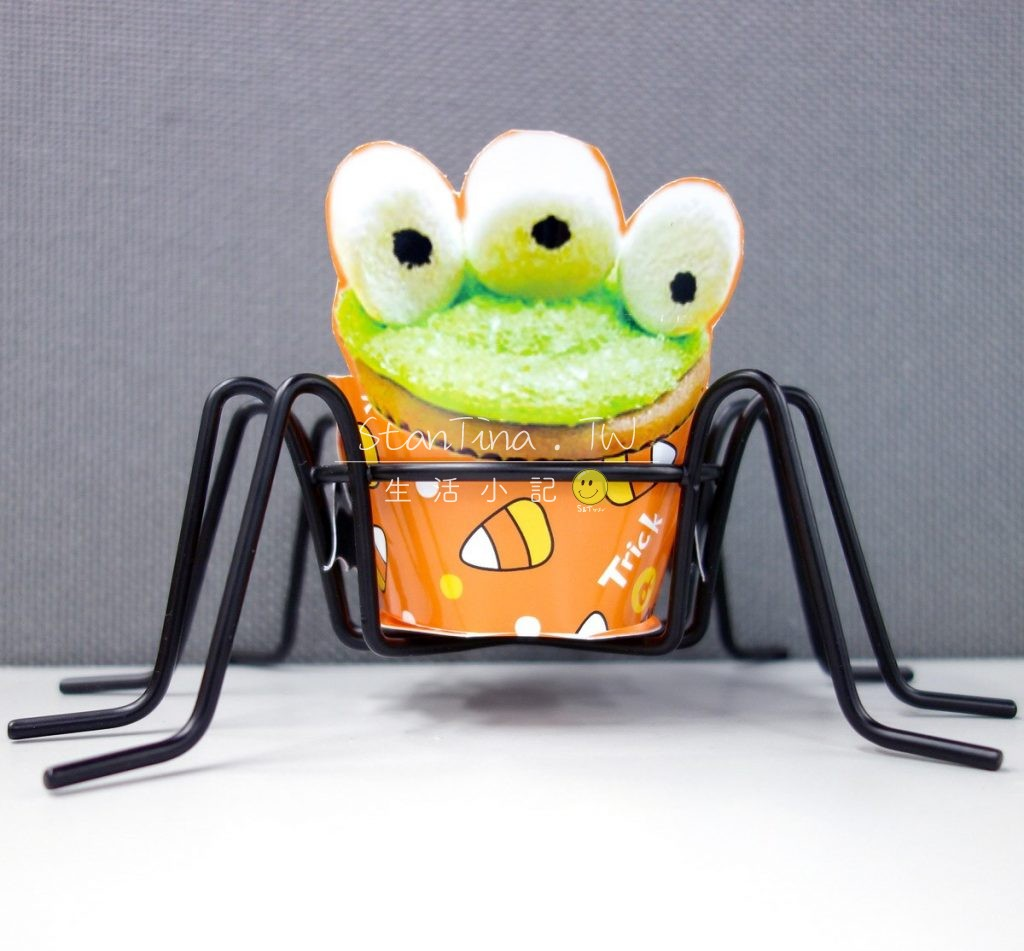 Halloween Spider CupCake metal wire -10萬可愛 聖節 杯子蛋糕