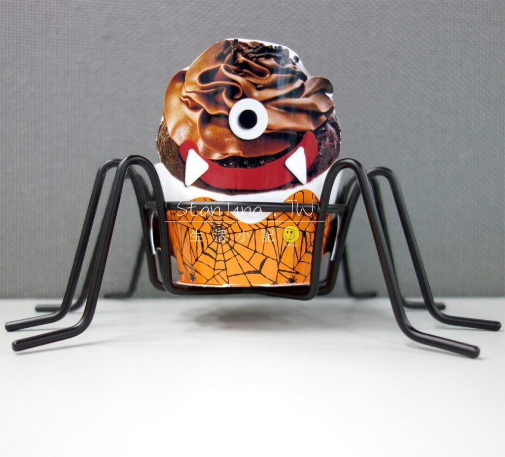 Halloween Spider CupCake metal wire -7 萬可愛 聖節 杯子蛋糕