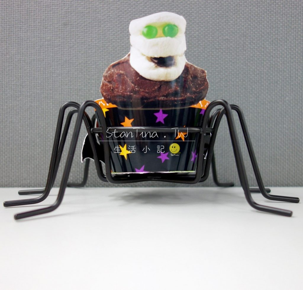 Halloween Spider CupCake metal wire -8 萬可愛 聖節 杯子蛋糕