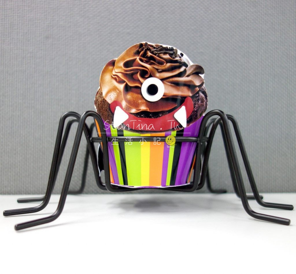 Halloween Spider CupCake metal wire -9 萬可愛 聖節 杯子蛋糕